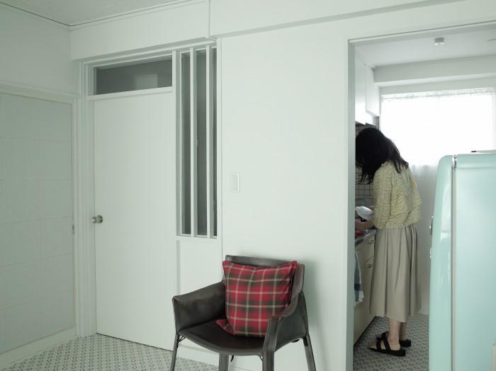 キッチンに窓があり明るくて気持ちが良い